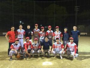 野球部集合