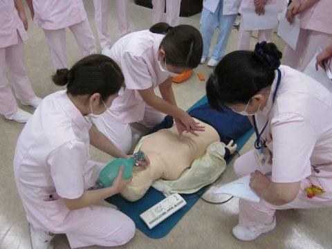 入職時研修(BLS:一次救命処置)